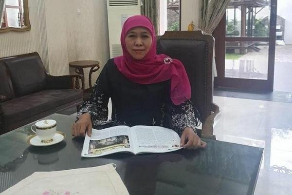 Gubernur Jatim Khofifah Terpapar Covid-19, Diunggah di Akun Instagram