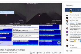 Pantau Gunung Merapi Secara Live, di Akun Youtube Ini