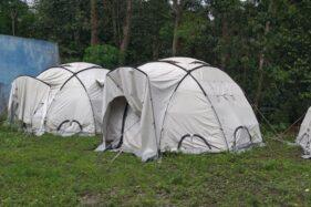 Warga Kemalang Klaten Masih Bertahan di Rumah, Delapan Tenda Pengungsian Belum Terpakai