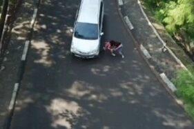 Viral Adegan Stuntman Sinetron Ikatan Cinta RCTI Nyaris Diserempet Mobil