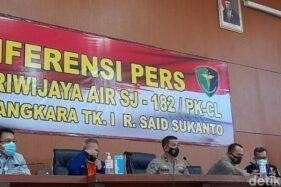 3 Korban Sriwijaya Air SJ182 Teridentifikasi, Salah Satunya Kopilot