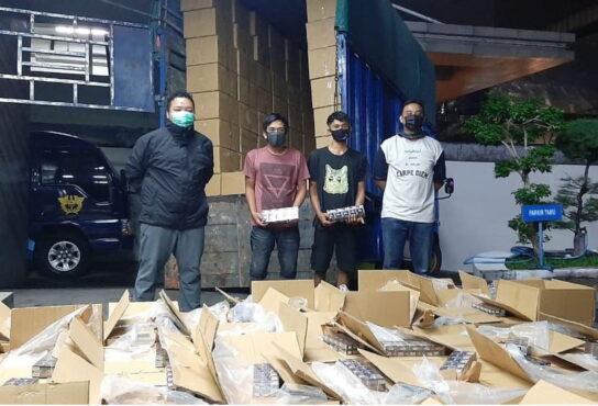 Kanwil Bea Cukai Jateng-DIY sukses menyita 47,69 juta batang rokok ilegal, dengan nilai mencapai Rp49,22 miliar. (Istimewa)