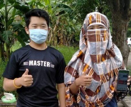 Raphael Valentino dan Kevin Falurentius dari SMK Kristen Terang Bangsa, Semarang. (Istimewa-dokumen pribadi)