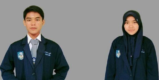 Bayu Zaki Febriansyah, Anggie Anggrieni dari SMK Negeri 1 Pemalang. (Istimewa-dokumen pribadi)