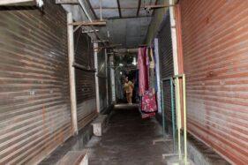 25 Pedagang Pasar Kota Sragen Pilih Tutup Kios Selama PPKM, Kenapa?