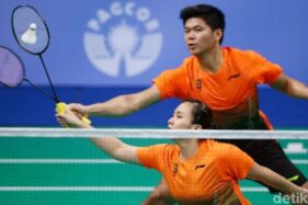 Tumbangkan Pasangan Prancis, Praveen/Melati ke Final Thailand Open