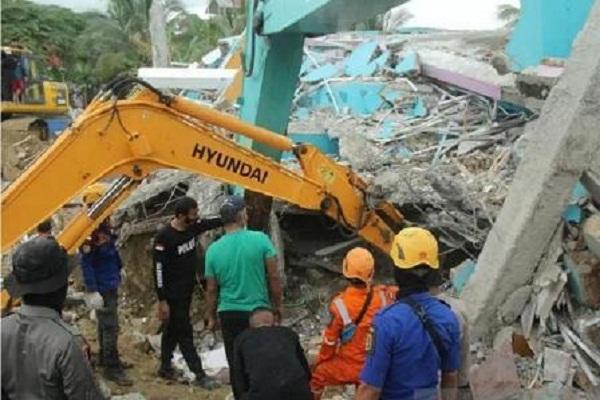 BNPB: Korban Gempa Sulbar Menjadi 56 Jiwa, 637 Orang Luka-Luka