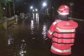 Dua Sungai Meluap, 7 Kampung di Sragen Kebanjiran