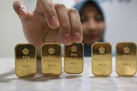 Harga Emas Antam Hari Ini (4/3/2021) di Pegadaian, Naik atau Turun?