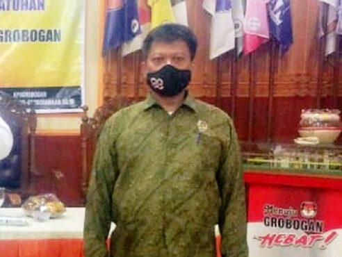 Ketua KPU Grobogan, Agung Sutopo. (Solopos.com-KPU Grobogan)