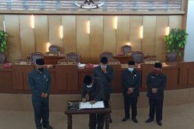 DPRD Boyolali Kirim Berkas Penetapan Calon Terpilih ke Mendagri