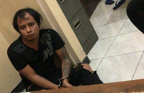 Joko Kurniawan, pelaku pembunuhan sesama jenis di Desa Terkesi, Kecamatan Klambu, Grobogan, Jumat (22/1/2021) malam. (Solopos.com-Polres Grobogan)