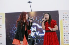 Prisa dan John Paul Ivan Semangat Berbagi di Konser Amal Peduli Sulbar