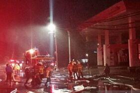 5 Ledakan Guncang Kawasan di Seputar SPBU Margomulyo Surabaya
