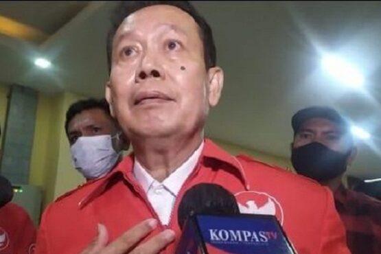 Ketua Relawan Pro Jokowi-Ma'ruf Amin (Pro Jamin) Ambrocius Nababan. (Detik.com)