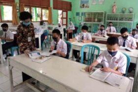 SMP di Kabupaten Semarang Malah Coba PTM saat Jateng PPKM