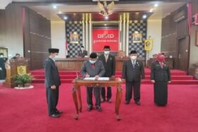 DPRD Wonogiri Kirimkan Surat Penetapan Paslon Terpilih ke Gubernur