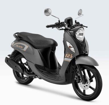 Yamaha Fino 125 Sporty mendapat penyegaran dengan warna baru, lebih stylish. (Yamaha)
