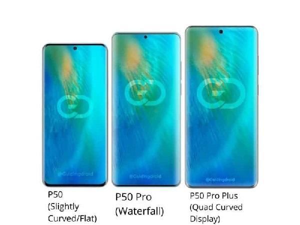 Huawei P50 Series Bakal Tampil Dengan Tiga Layar Berbeda