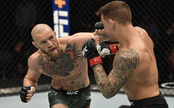 Conor McGregor vs Dustin Poirier (Reuters)