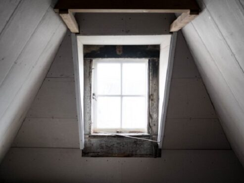 Ilustrasi loteng atap rumah. (Freepik)