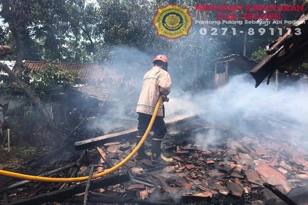 1 Rumah di Sambirejo Sragen Ludes Terbakar