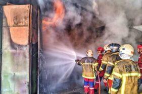 Bangunan CV Manggala Furniture Klaten Terbakar, 6 Jam Api Baru Padam