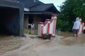 Hujan Deras Picu Banjir di Karanggede Boyolali, 2 Anak-Anak Terseret Arus