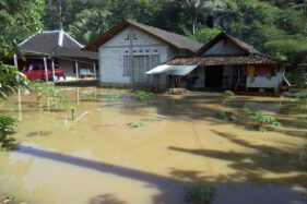 Ratusan Rumah di 2 Kecamatan di Wonogiri Terendam Banjir