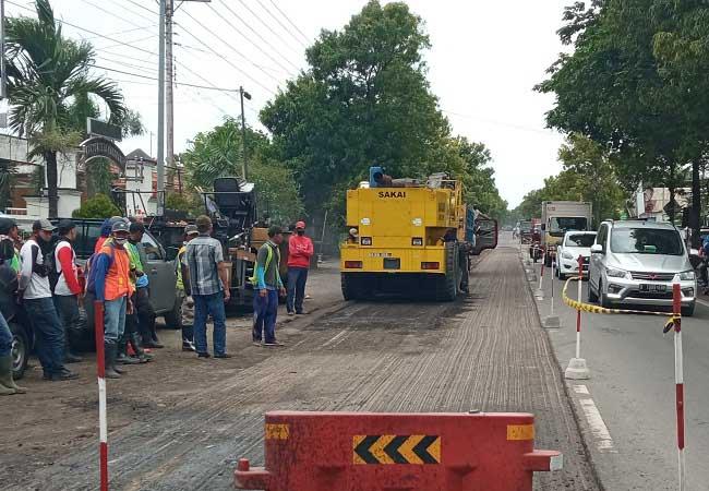 Kerusakan Jalan Solo-Sragen Sudah Kondang Sejak Zaman Penjajah Belanda, Ini Buktinya!