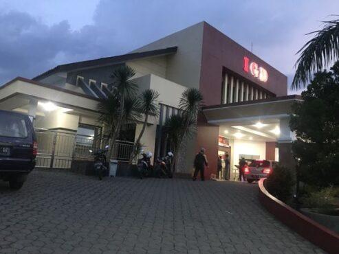 Gedung instalasi gawat darurat (IGD) RSUD Karanganyar, beberapa waktu lalu. (Solopos/Candra Putra Mantovani)