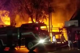 Kebakaran Terjadi di Gladagsari Boyolali, 3 Kios Kobong