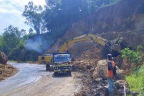 Sudah 4 Hari, Proses Evakuasi Longsor di JLS Wonogiri Diharapkan Segera Rampung