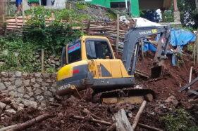 Bencana Tanah Longsor Terjadi di Dekat Taman Plintheng Semar Wonogiri