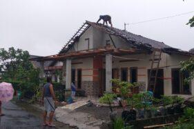 Puting Beliung Landa Karanganom Klaten Selama 15 Menit, Warga Panik