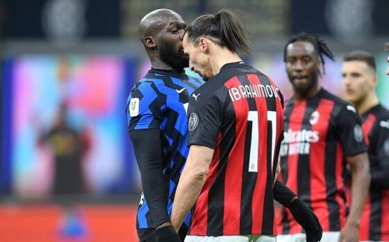 Romelu Lukaku dan Zlatan Ibrahimovic (REUTERS/Daniele Mascolo)