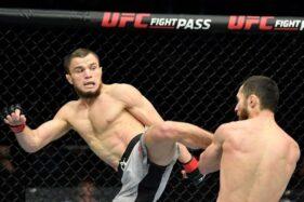 Sepupu Khabib Nurmagomedov Debut di UFC, Langsung Menang