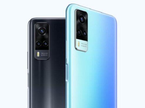 Smartphone Vivo Y31. (Gizmochina)