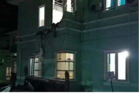 Kantor Gubernur Sulbar di Mamuju Ambruk Akibat Gempa Majene