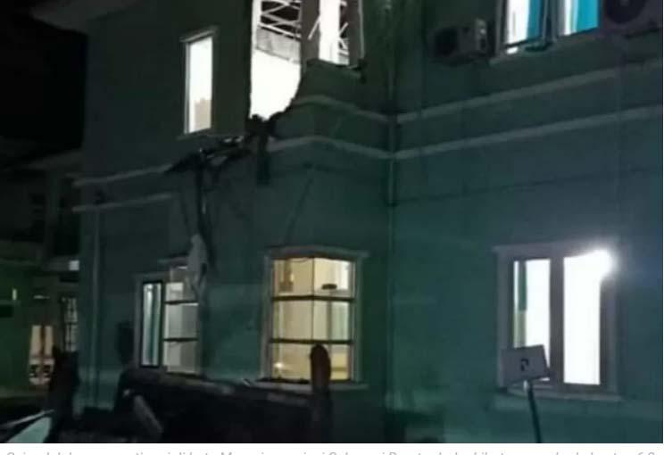 Warga Panik Gempa M 6,2 Guncang Mamuju, Sejumlah Bangunan Dikabarkan Rusak