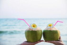 Segar dan Nikmat, Ini 5 Manfaat Minum Air Kelapa Muda Bagi Kesehatan