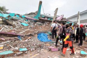 32 Gempa Susulan Terjadi di Sulbar Hingga Pagi Ini