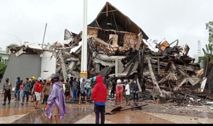 Update Korban Gempa Majene Sulbar: 8 Orang Meninggal, 637 Luka, 15.000 Mengungsi