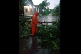 Hujan Disertai Angin Kencang Terjang 2 Kecamatan Di Sukoharjo