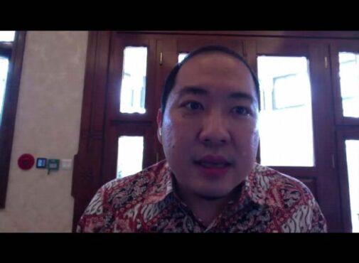 Iwan Kurniawan Lukminto. (tangkapan layar diskusi virtual Solopos)