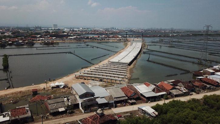 Progres Pembangunan Tol Semarang-Demak Lambat, Terkendala Masalah Klasik