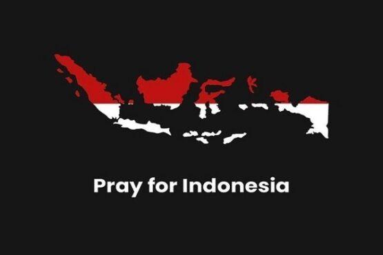 Tagar #PrayforIndonesia. (Twitter)