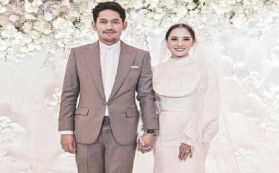 Ibnu Jamil dan Ririn Ekawati di hari pernikahan. (Instagram/@riomotret)