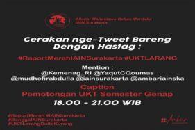 Tagar #RaportMerahIAINSurakarta Trending Gegara Drama UKT, Ini Jawaban Rektor IAIN