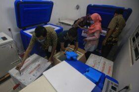 Wow! Vaksinasi Covid-19 Tahap I Solo Tercepat Se-Indonesia